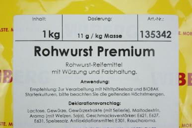 WIBERG® Rohwurst Premium 1kg
