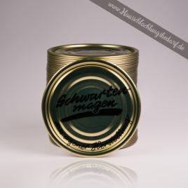 """Falzdeckel / Dosendeckel 99mm für Weißblechdosen ( Wurstdosen ) mit Druck Schwartenmagen """"eigene Herstellung"""""""