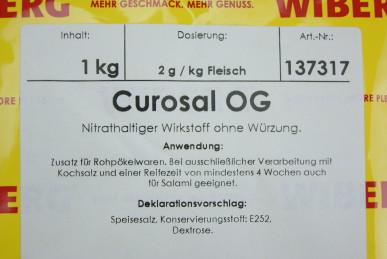 WIBERG® CUROSAL – Zusatz für Salami & Rohpökelwaren