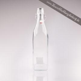 Schnappsflasche Likörflasche Spirituosenflasche Dressingflasche 1L