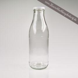 Milchflasche Saftflasche Sirupflasche Dressingflasche 1L