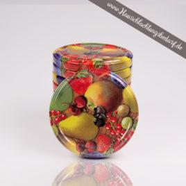 Twist Off Deckel für Marmeladengläser im FRÜCHTE DESIGN