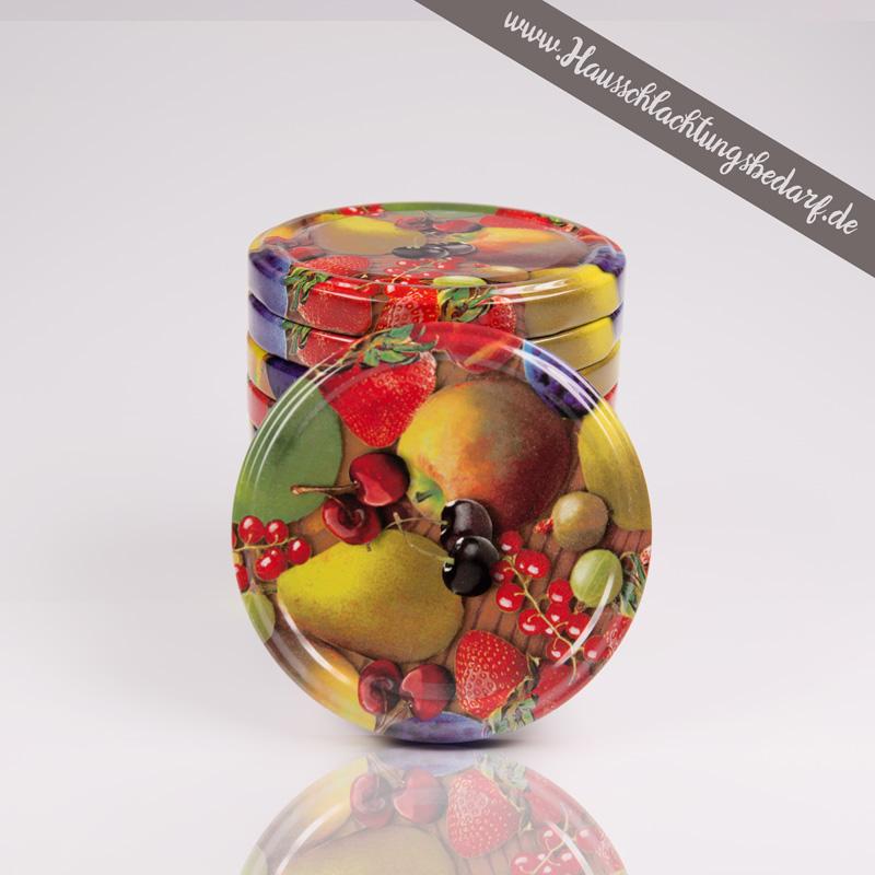 Twist Off Deckel Fur Marmeladenglaser Im Fruchte Design Jochen Einecke